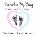 Remember my baby charity logo